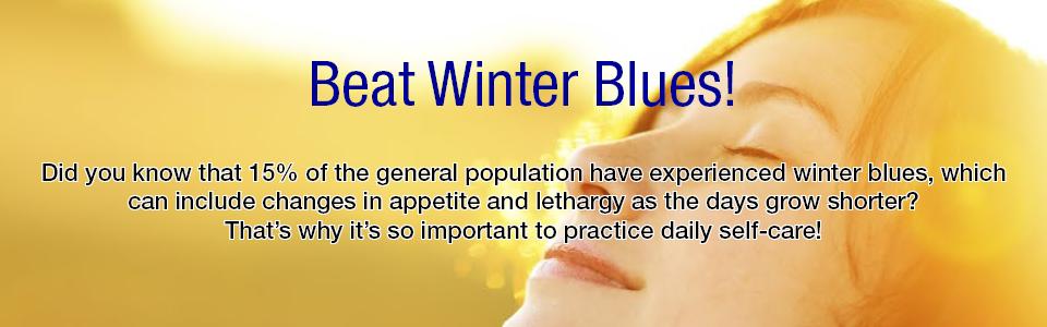 Blue Monday – Beat the Winter Blues