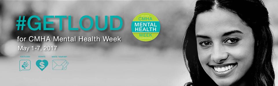 #GETLOUD for Mental Health Week 2017