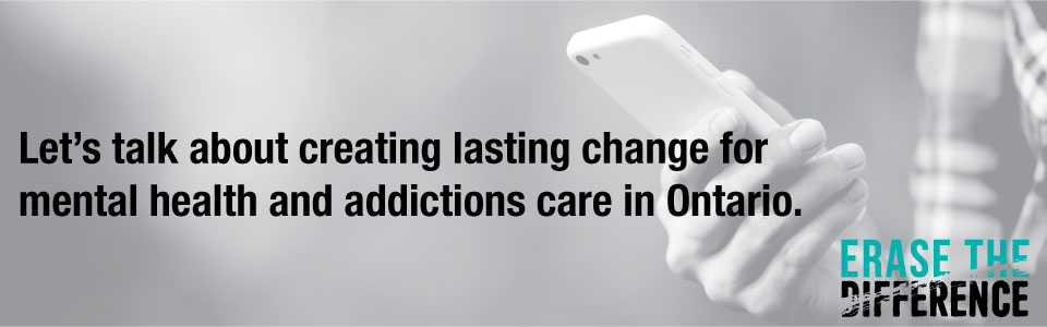 Add your voice in support of mental health and addictions care