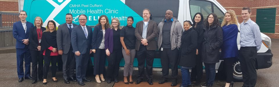 CMHA Peel Dufferin Mobile Health Clinic powered by TELUS Health is now in the community
