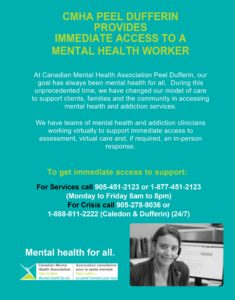 Immediate Access to Mental Health Worker