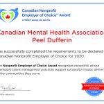Canadian Mental Health Association Peel Dufferin_Certificate